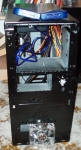 GC V1.0 case mod - fitting out the case (front view)
