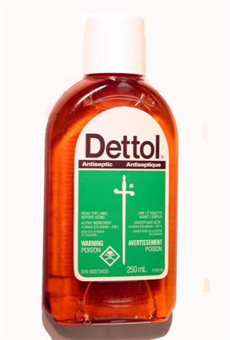 Dettol bottle
