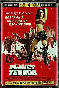 Planet Terror (Dutch promotional poster)
